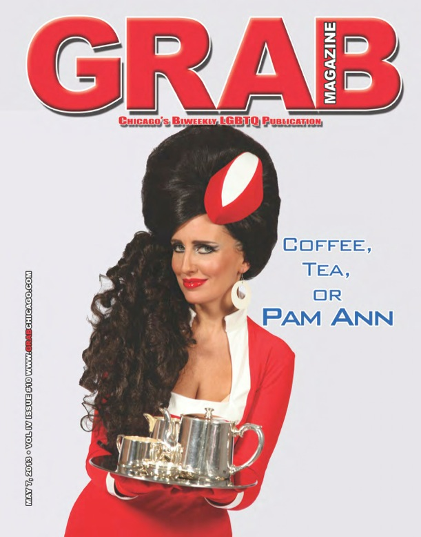 May 7, 2013 - Grab Magazine - Pam Ann
