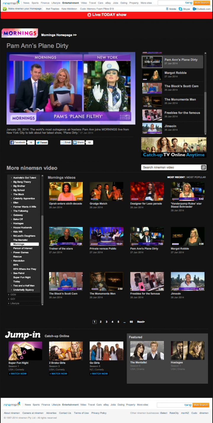 Channel Nine Videos