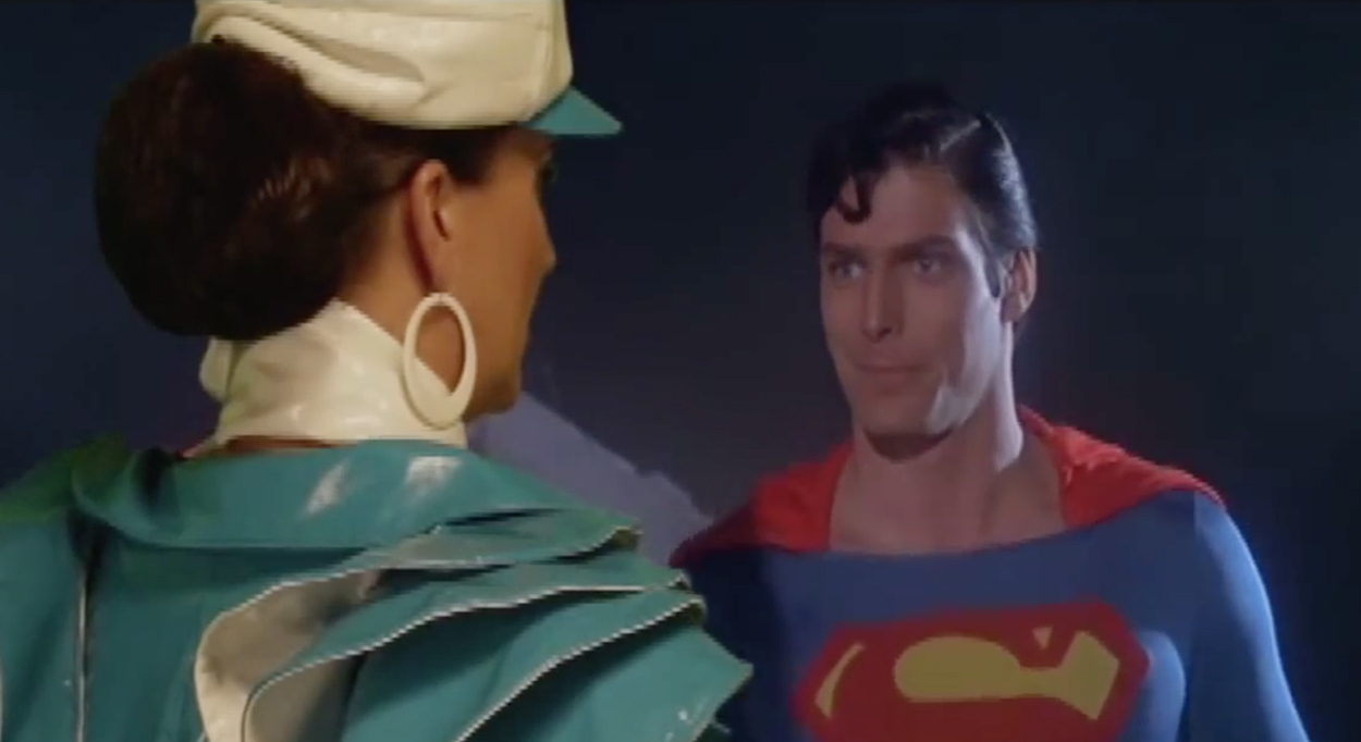 Pam Ann – Superman Spoof