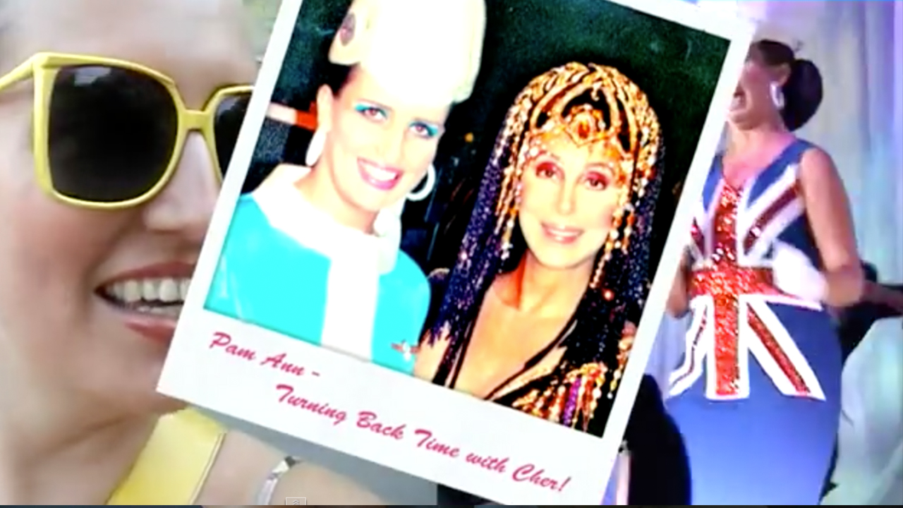 Pam Ann On Tour With Cher