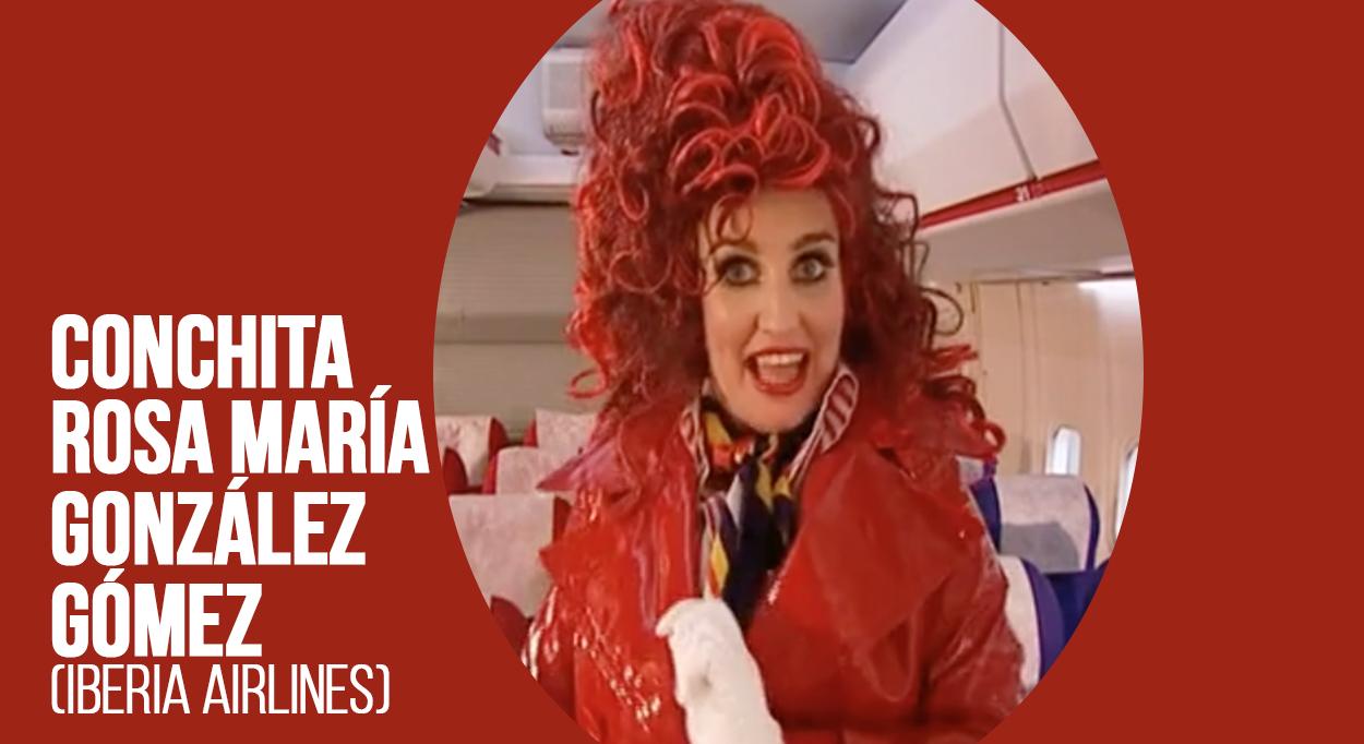 Conchita Rosa María González Gómez (Iberia Airlines)